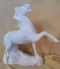 Fighting Stallion