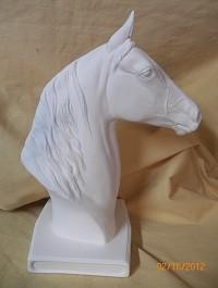 Morgan horse on low base