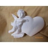 cherub and heart