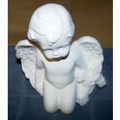 cherub with cross