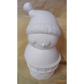 happy snowman box