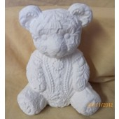 small lace bear