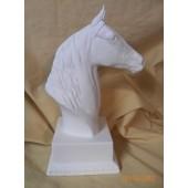 Morgan horse on trophy base