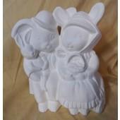 The bunny family