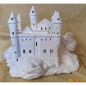 5 turret castle with all windows cut out