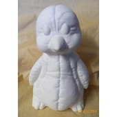 soft sculpture penguin bank