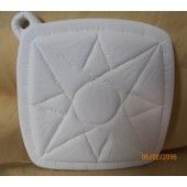 pot holder 13 quilted sun