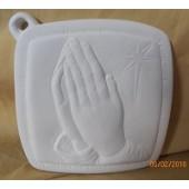 pot holder 19 praying hands
