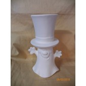 ghost hat candle