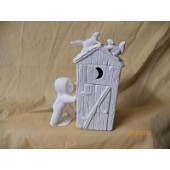 snowbaby and outhouse
