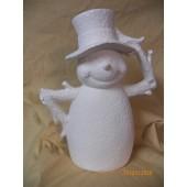 papa snowman plain