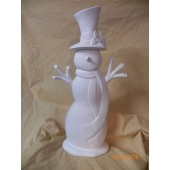 large scarf snowman 1