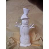 medium scarf snowman 2