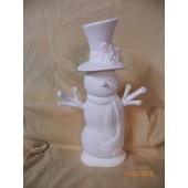 small scarf snowman 3