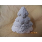 small carved tree with star and tree