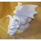 goat head gargoyle