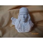 Indian warrior bust