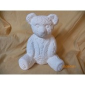 lace teddy bear bank
