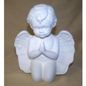 medium cherub praying