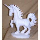 prancing unicorn on base