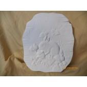 rabbit plaque