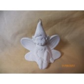 sitting elf ornament