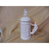 small stein with fireman