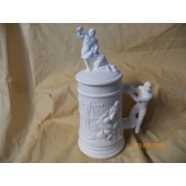 small stein with football players