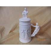small stein with old fashion policeman