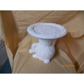 snowman holding plate