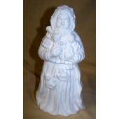 toy holding Santa